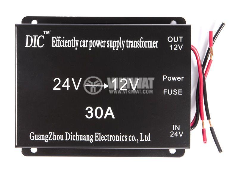 Converter 24V-12V, 30A, 360W - 1