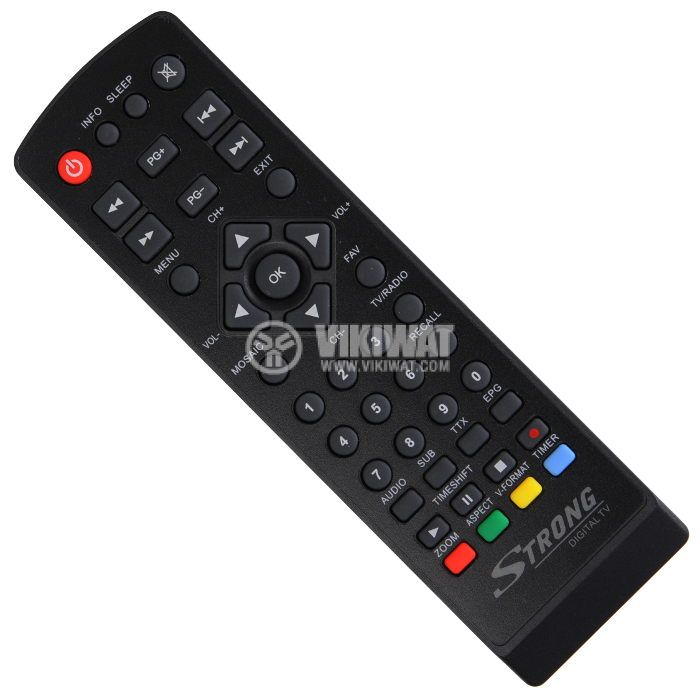 Remote control for digital TV decoder Strong SRT8113/SRT8105, SRT8108