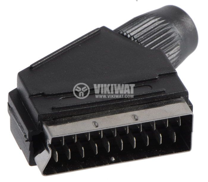 Конектор тип SCART мъжки - 1