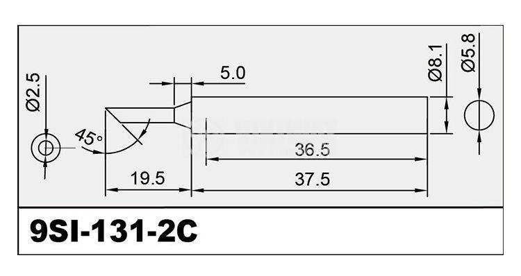 Човка за поялник 5SI-131-2C - 2