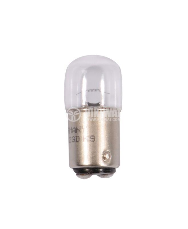 Automotive lamp BA15D, 24VDC, 10W - 1