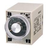 Analogue Time Relay AH3-2C, 12 VDC, 2NO +2 NC, 220 VAC, 10 A, 0-60 min
