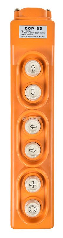 Push Button COP-23, 500 VAC 5 A (250 VAC 15 A) - 1