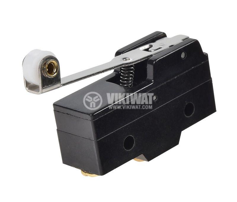 Краен изключвател Z-15GW2-B, SPDT-NO+NC, 15A/250VAC  - 4