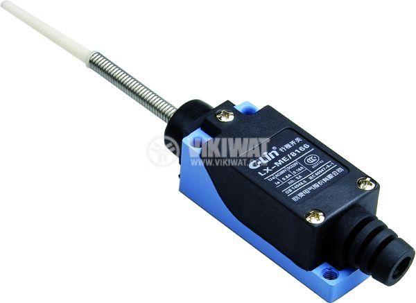 Краен изключвател, TZ-8166, NO+NC, 250VAC, 5A, пружина - 1