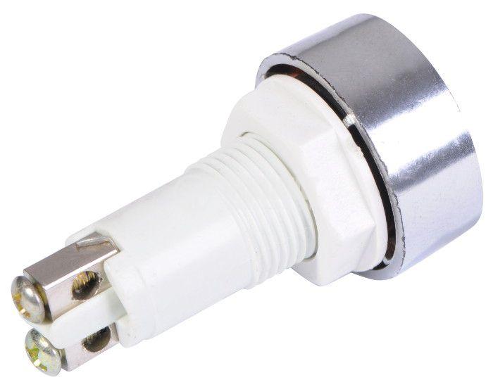 Индикаторна лампа, XH020 ,LED лампа ,220 VAC, зелена - 3