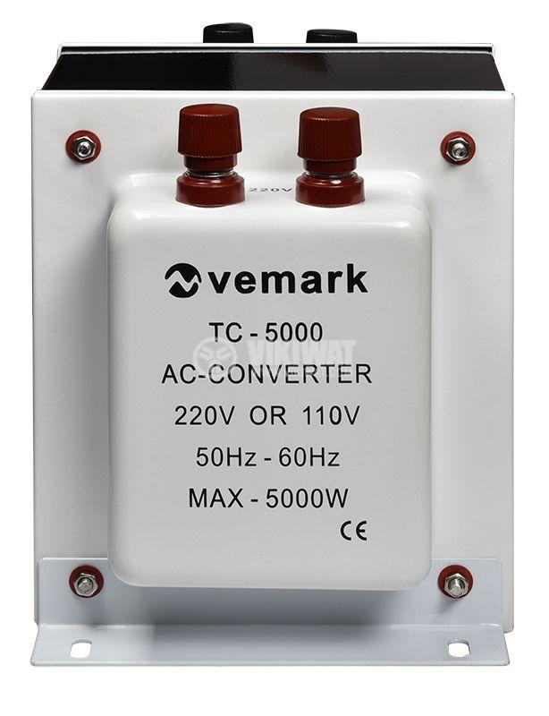 Конвертор TC-5000, 5000W, 220VAC-110VAC - 1