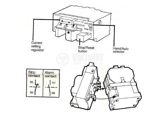 thermal relay mte axt0 three