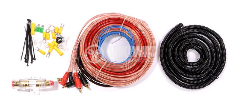 Set of cables for installation of car amplifier WIREMAN CAR SET 2300B - 1