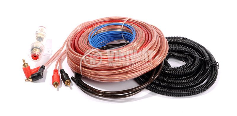 Set of cables for installation of car amplifier WIREMAN CAR SET 2300B - 3