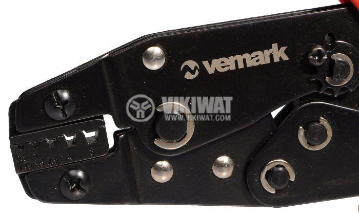Клещи, HS-05WF,за кербоване на кабелни тръбички, 0.5-6mm2 - 2