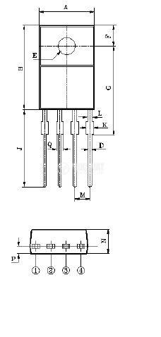 Интегрална схема 78R05, Линеен стабилизатор на напрежение, 5V/1A; TO-220-4 - 2