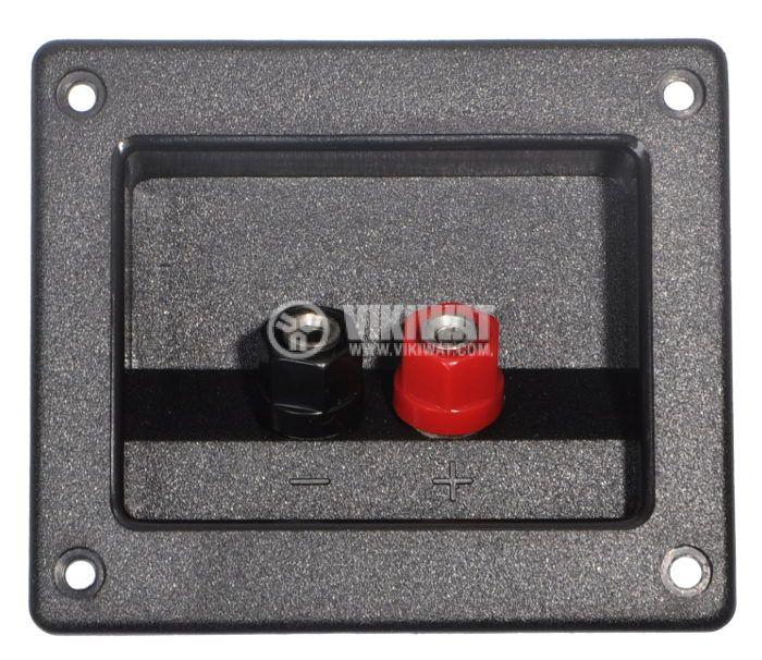 Double Speaker Terminal, 90х80mm - 1