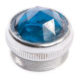 Plate for indicator lamp blue Ф21.5mm