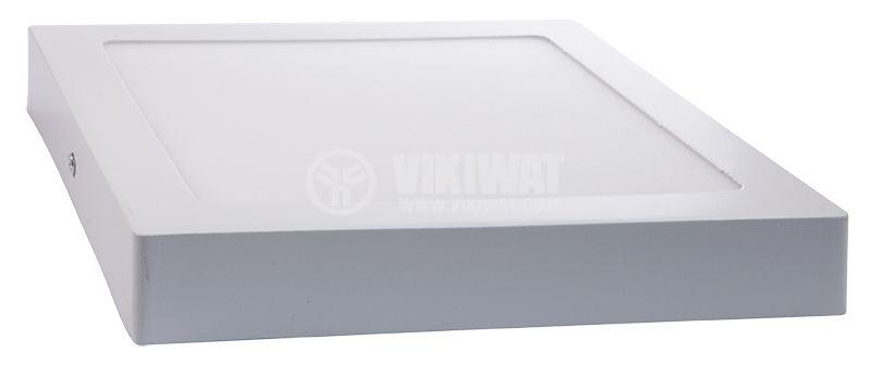 LED панел за обемен монтаж 18W, 1360lm, 220VAC, 4200K, студено бял, 220x220mm, BP04-31830 - 5