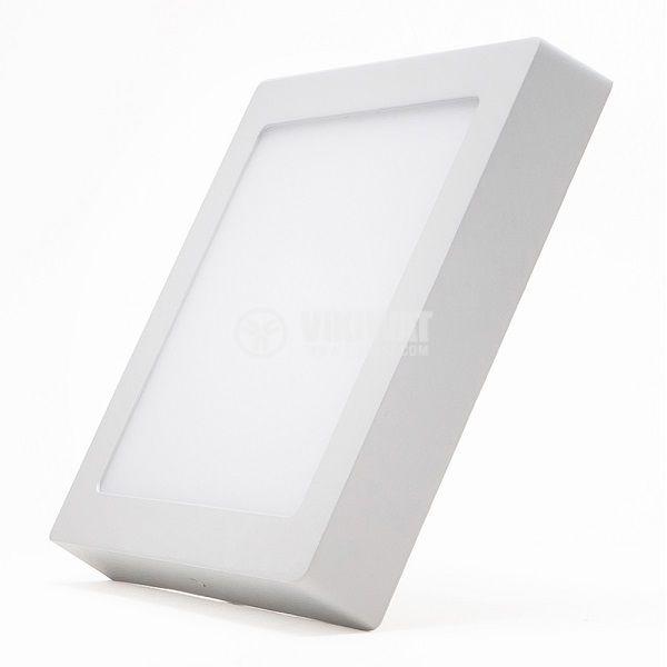 LED панел за обемен монтаж 18W, 1360lm, 220VAC, 4200K, студено бял, 220x220mm, BP04-31830 - 3
