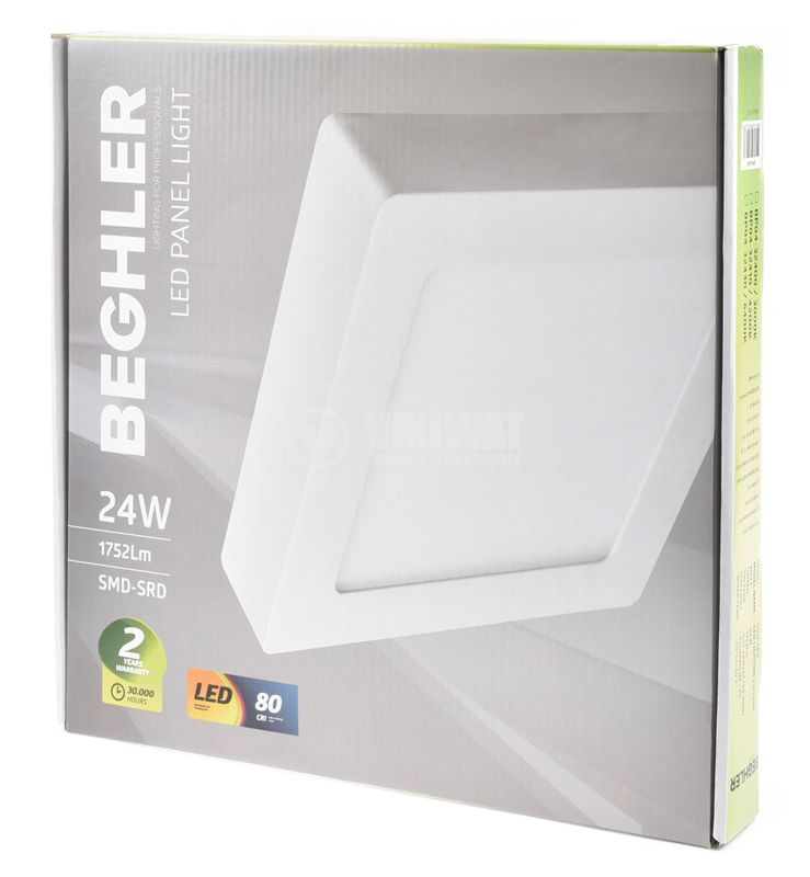 LED panel lamp BL08-2010, 20W, 220VAC, natural white - 5