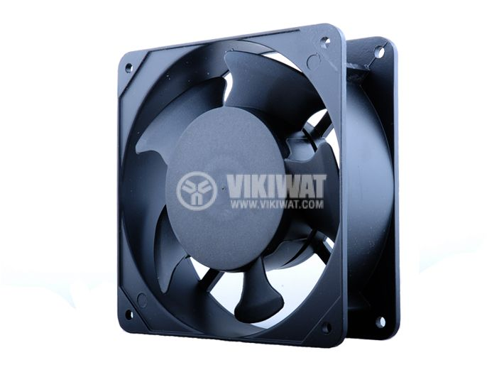 Axial Fan VM12038A2HSL, 120х120х38mm, 220VAC, 0.14A with sleeve bearing - 1