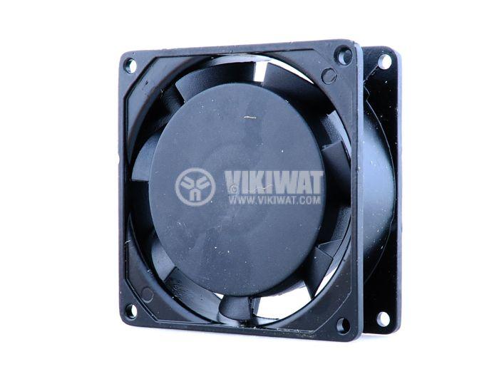 Вентилатор VM8025A2HSL, 80х80х25mm, 220VAC, 0.08A, втулка - 1