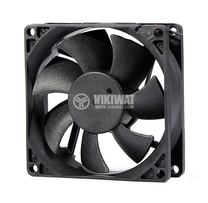 Axial Fan VM8025D12HSL, 80х80х25mm, 12VDC, 0.18A with sleeve bearing - 1
