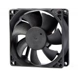 Fan, 12VDC, 80x80x25mm, with sleeve, 66m3 / h, VM8025D12HSL