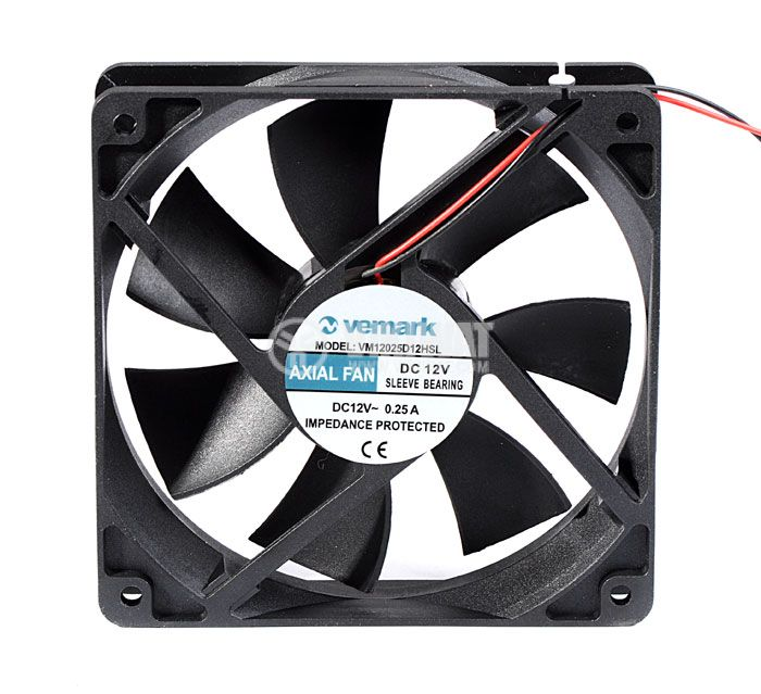 Вентилатор 120x120x25mm - 2