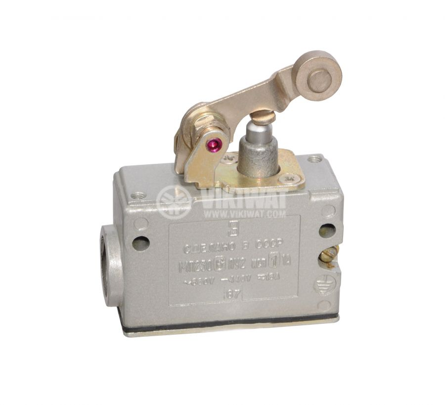 Limit Switch MP2306LU2-11A, SPDT, 16A/660VAC, roller lever