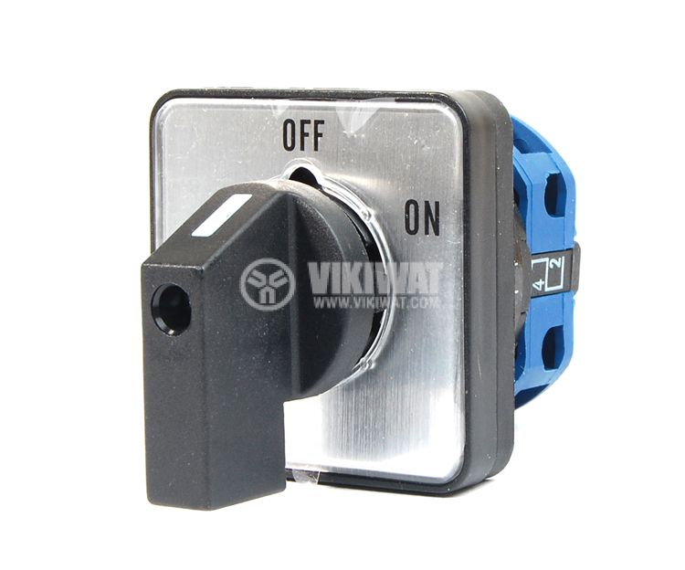 Пакетен електрически прекъсвач (ПЕП) LW26-20/1 M1I ON-OFF, 220/380 VAC, 20 A с един контакт - 1