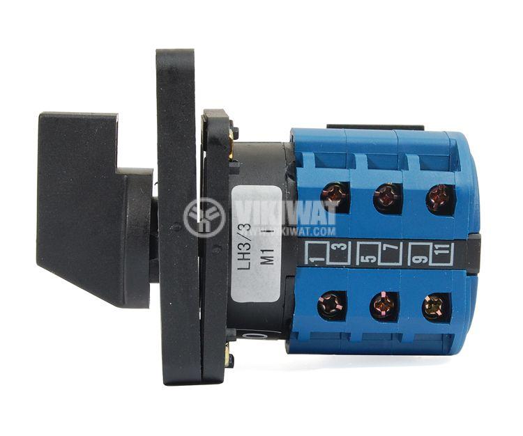 Пакетен електрически прекъсвач (ПЕП) LW26-20/LH3.3 M1I, 0-R-S-T, 220 VAC / 380 VAC, 20 A - 2