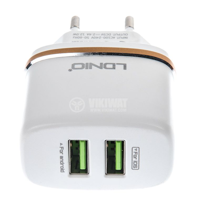 Phone charger for Android products DL-AC52, 100-220VAC - 4