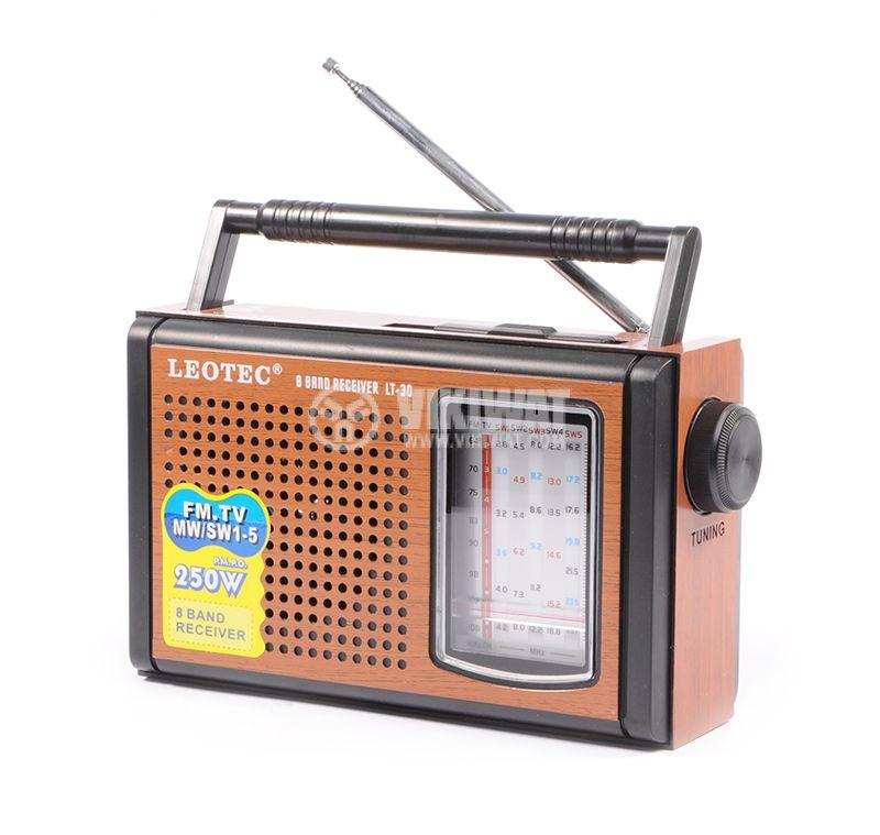 Класическо FM радио LT-29, LEOTEC - 3