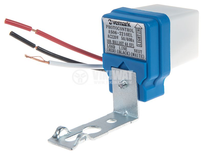 Фотоелектрически ключ, автоматичен, 220VAC, 10А, нерегулируем - 1