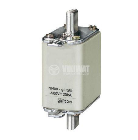 Fuse, NH00-5050, 50A, 500VAC, gG/gL, knifeblade - 1