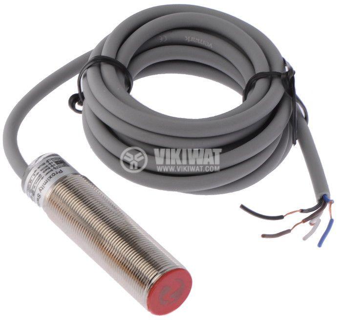 Proximity Switch M18x70mm VM18N3E1L NPN NO+NC 10-30VDC, range 5mm, shielded - 1