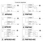 Proximity Switch M18x70mm VM18N3E1L NPN NO+NC 10-30VDC, range 5mm, shielded - 2