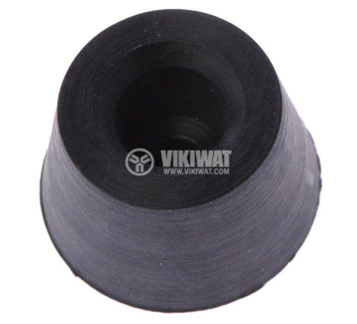 Speaker rubber foot Ф22mm, Ф3mm - 2
