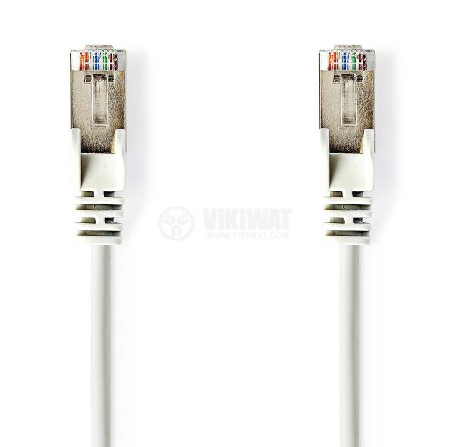 LAN кабел категория 5e 5m RJ45 към RJ45 - 1