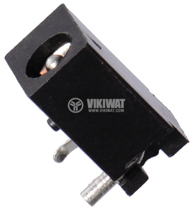 Power DC socket, M, 4x1.7mm  - 1
