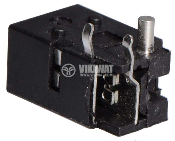 Power DC socket, M, 4x1.7mm  - 3