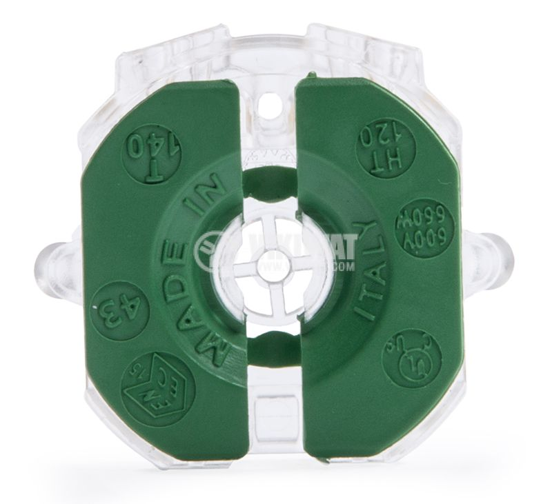 Цокъл за луминесцентна лампа T8, G13 - 1