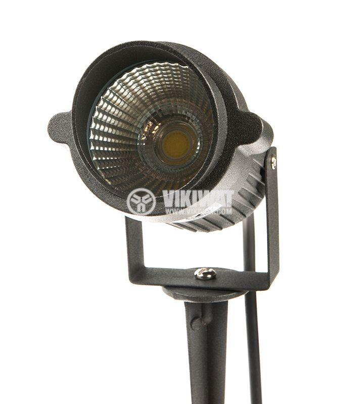 LED garden fixture 9W, 220VAC, 780lm, 3000K, warm white, IP65, waterproof, BT27-0200 - 7