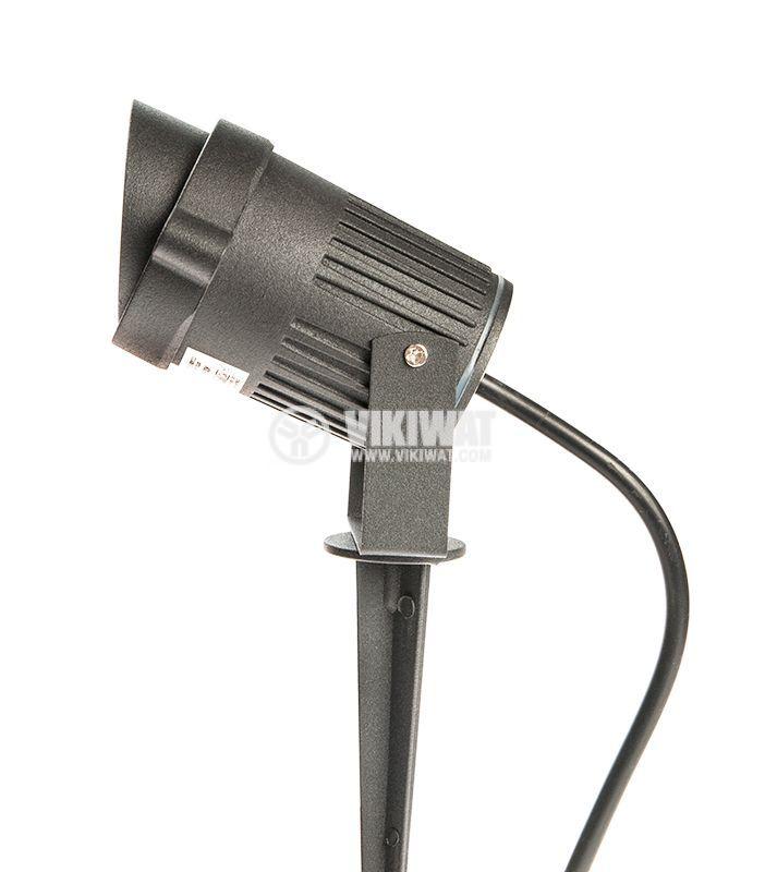 LED garden fixture 9W, 220VAC, 780lm, 3000K, warm white, IP65, waterproof, BT27-0200 - 8