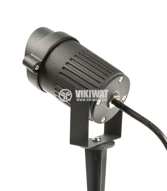 LED garden fixture 9W, 220VAC, 780lm, 3000K, warm white, IP65, waterproof, BT27-0200 - 9