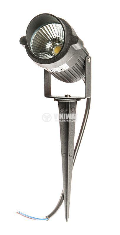 LED garden fixture 9W, 220VAC, 780lm, 3000K, warm white, IP65, waterproof, BT27-0200 - 10