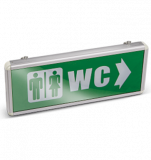 "Emergency LED ""WC"", BN40-0104"