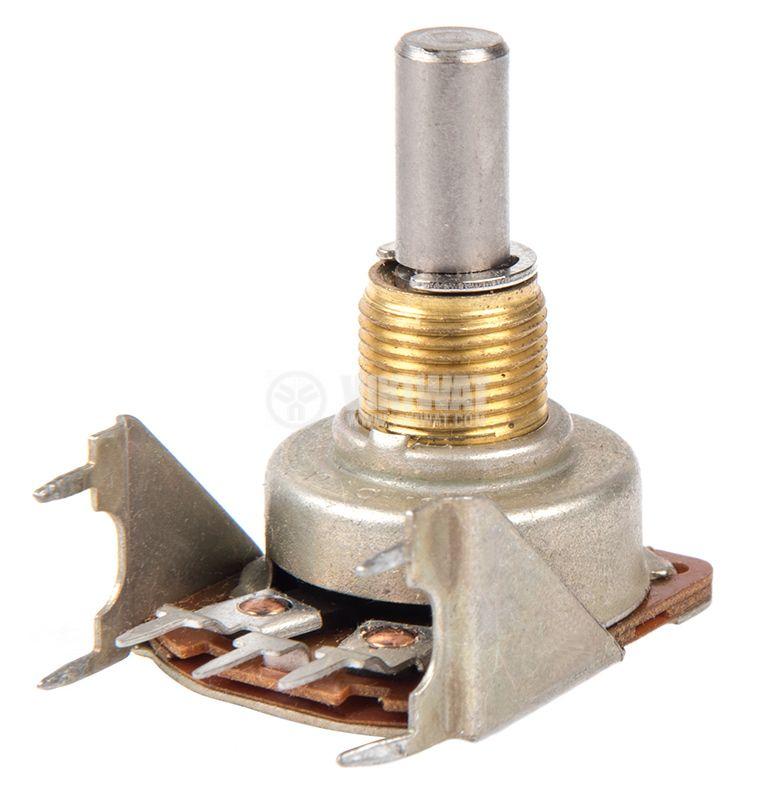 Потенциометър антилогаритмичен 22kOhm моно - 1