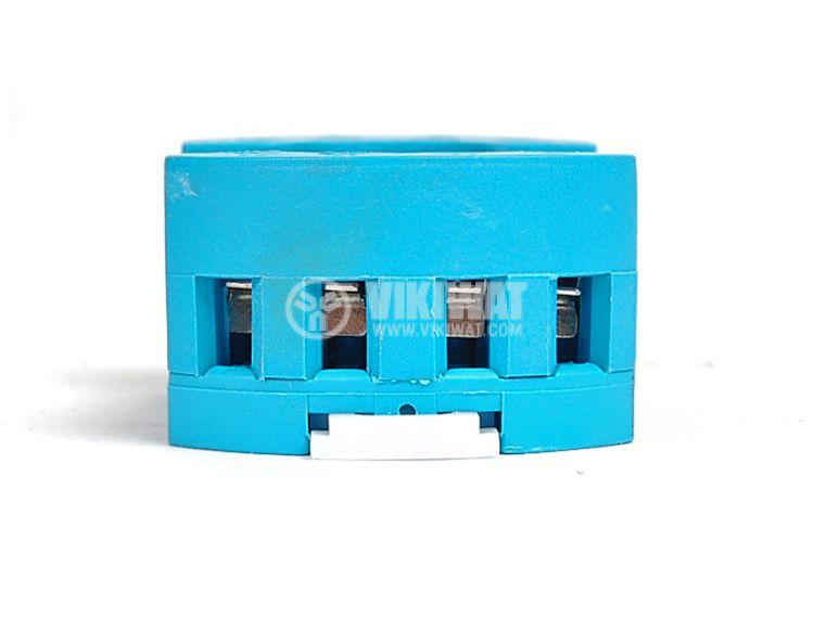 Цокъл за реле 90.20, DIN шина, 250VAC, 10А, 8pin , с винтови изводи  - 3
