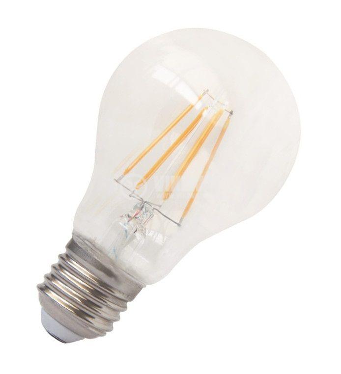 LED лампа BA39-0620, 6W, 220VAC, E27, 3000K, топлобяла - 7