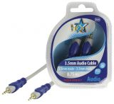 Cable, plug 3.5 stereo/m-plug 3.5 stereo/m, 0.75m
