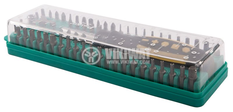 Screwdriver set with 62-pin SD-205 bits - 2